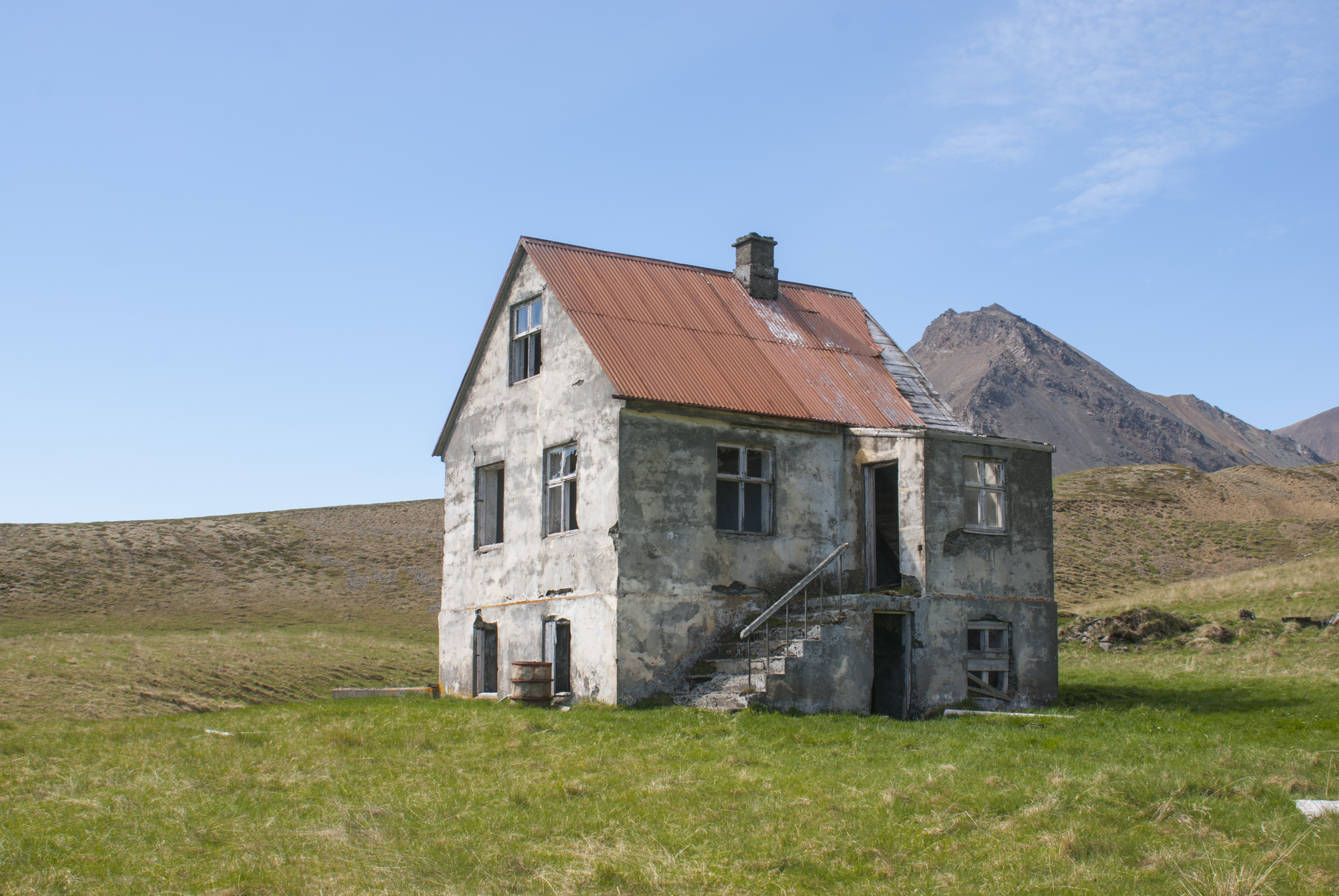 Ey Ib Li Slandi Abandoned Rural Homes In Iceland
