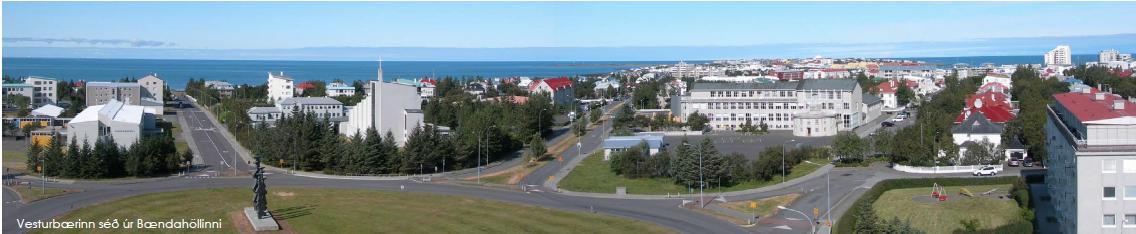 Vesturbær_panorama